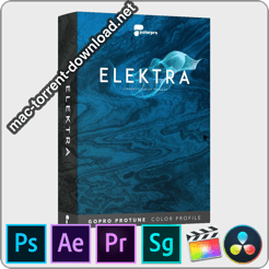 Elektra Cinematic Color Presets GoPro ProTune icon