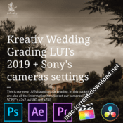 Kreativ Wedding Grading LUTs 2019 icon