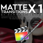 Rampant Design Tools Matte Transitions X v1 icon