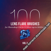 100 PS Lens Flares Brushes Vol 2 4443134 icon