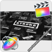 Strong Titles for Final Cut Pro icon