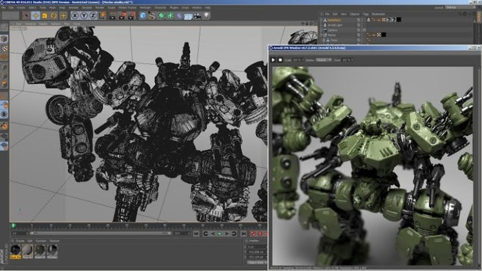 Solid Angle Cinema 4D To Arnold 303 for Cinema 4D Screenshot 01 9oof69n