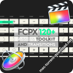 FCPX 120 Toolkit and Transitions icon