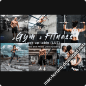 Gym and Fitness Sport LUTs icon
