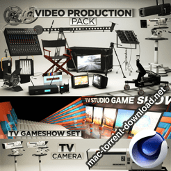 PIXEL LAB Video Production Pack for Cinema 4D icon