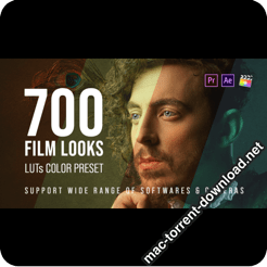 700 Film Looks LUT Color Preset Pack 25157078 icon