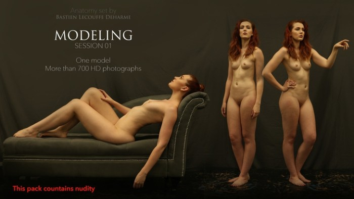 MODELING Session 01 Anatomy set by Bastien Lecouffe Deharme Screenshot 01 pmtqfvy