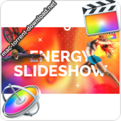 Energy Slideshow For Final Cut Apple Motion 29854557 icon