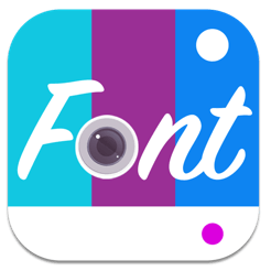 Fontography Text on Pictures icon