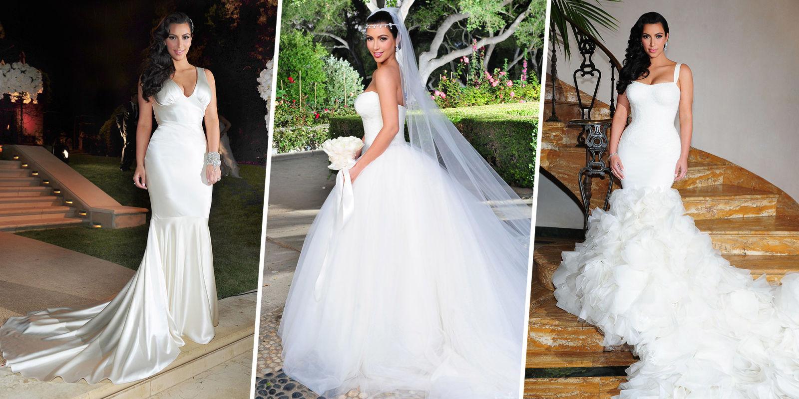 Celebrities Who Wore Multiple Wedding Dresses