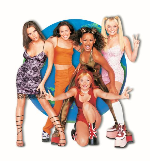 The platforms worn by the Spice Girls, on the other hand, were major to the max.