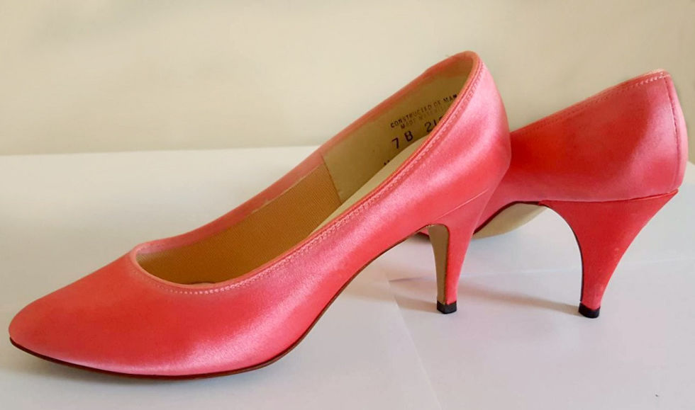 And who could forget Dyeables? The matched-to-your-outfit satin pumps that haunt every wedding and prom photo from the '80s (and sadly, the 90s and early 2000s for those who didn't get the memo).