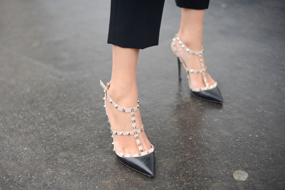 Valentino's Rockstud heel manages to be equal parts elegant and edgy, and for that reason, we'll always love it.
