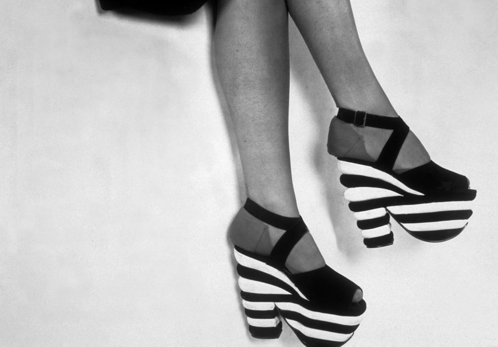 While the platform may have shot to popularity during the '70s, the late 1930s was when they first came onto the shoe scene.