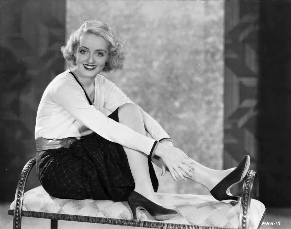 Bette Davis knew the power of a basic black pump.