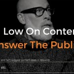 Answer the Public Content Discovery Tool