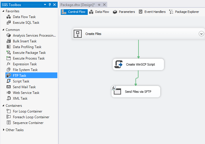 Uploading Files to SFTP Server using SSIS – Raymund