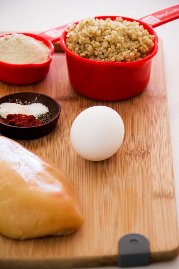 Ingredientes Nuggets de Pollo