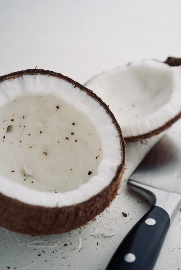 Leche de coco natural