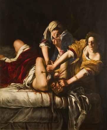 Judith Slaying Holofernes (1614–1620) by Artemisia Gentileschi