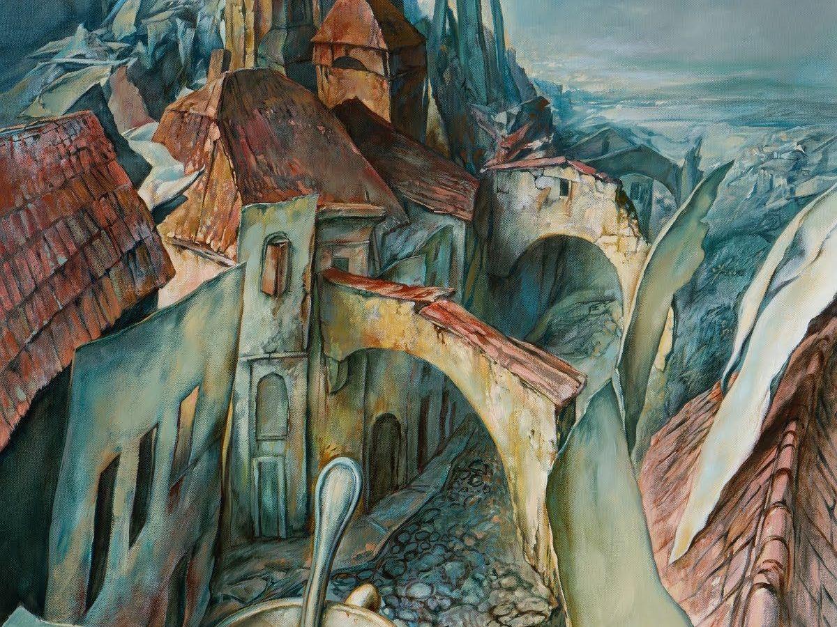 Soutine Street (2001) by Samuel Bak