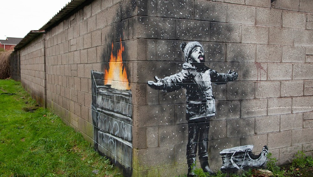 Season's Greeting (2018) by Banksy