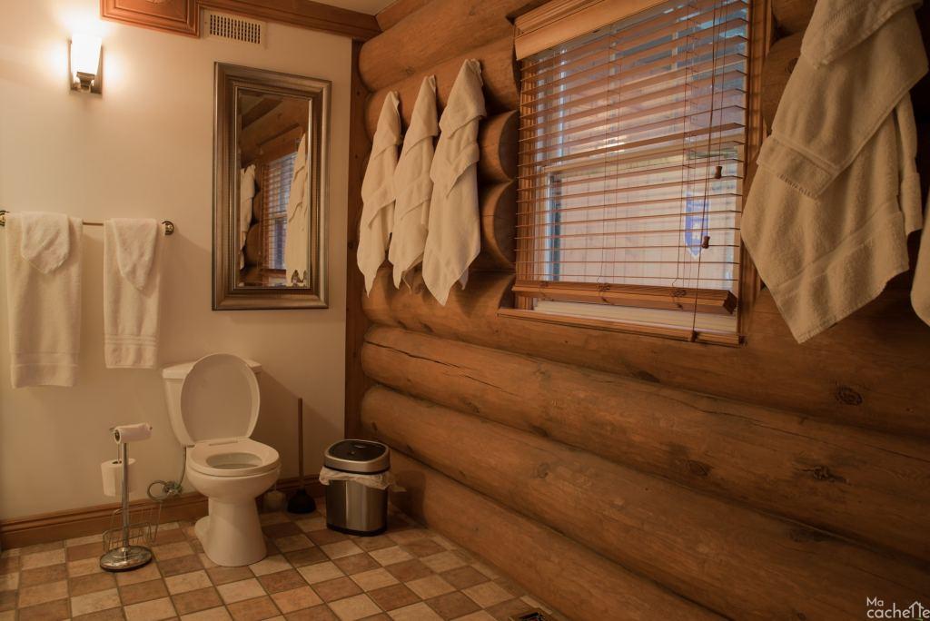 Domaine forêt d'eau - Chalet 16 personnes à louer au lac Simon en Outaouais - Salle de bain avec douche