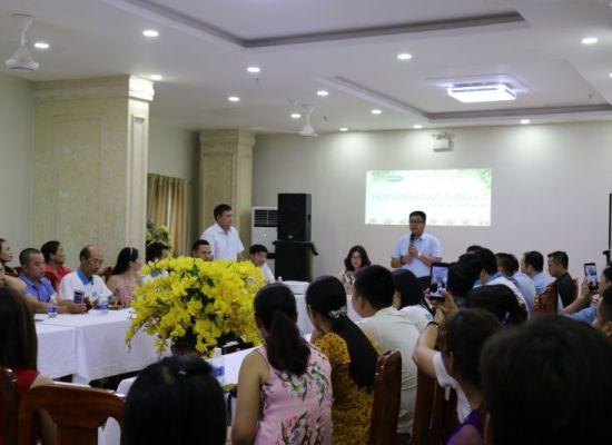 Cuộc họp thường niên ban lãnh đạo công ty