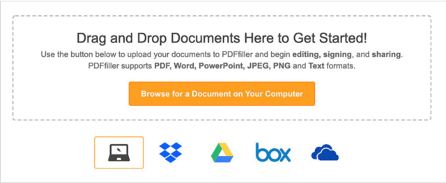 PDFfiller An online PDF editor that offers a gamut of editing features including getting documents e-signed, filling forms and collaborating with others on documents and files, etc. (online tool)