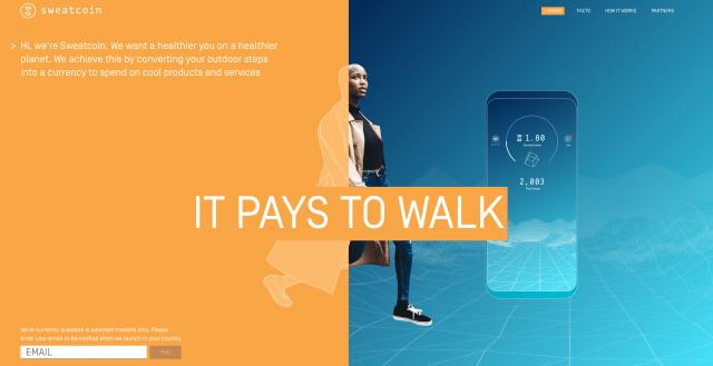 sweatcoin berjalan dapat duit