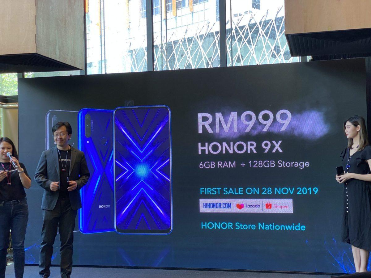 harga honor 9x malaysia