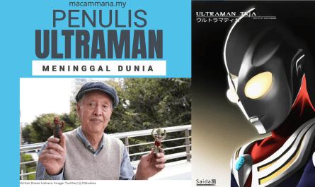penulis ultraman meninggal dunia