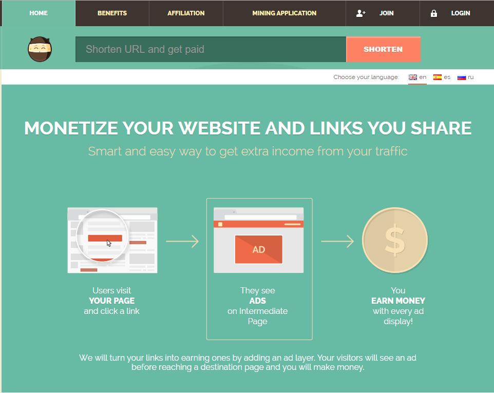 Buat Duit Dengan URL Shortener