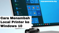 Cara Menambah Local Printer ke Windows 10