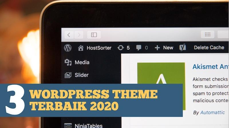 3 WordPress Theme Terbaik dan Paling Popular pada tahun 2020