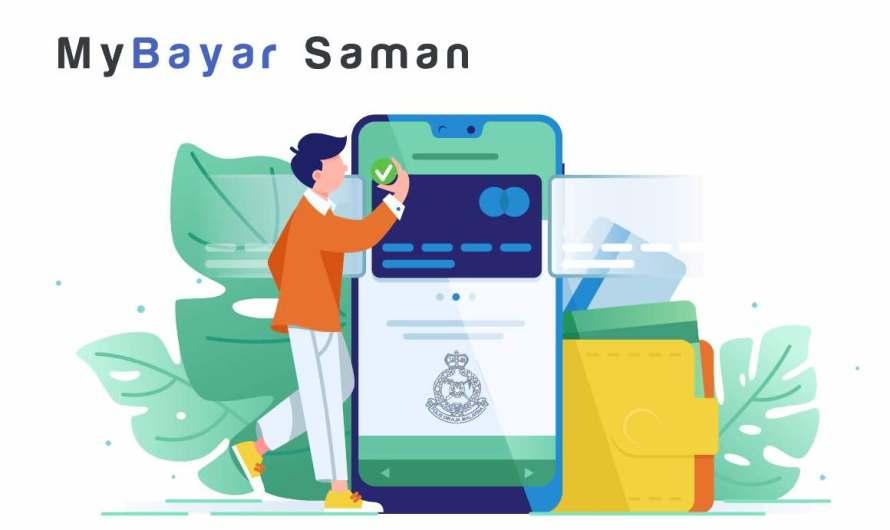 Cara Bayar Online Saman Polis : MyBayar