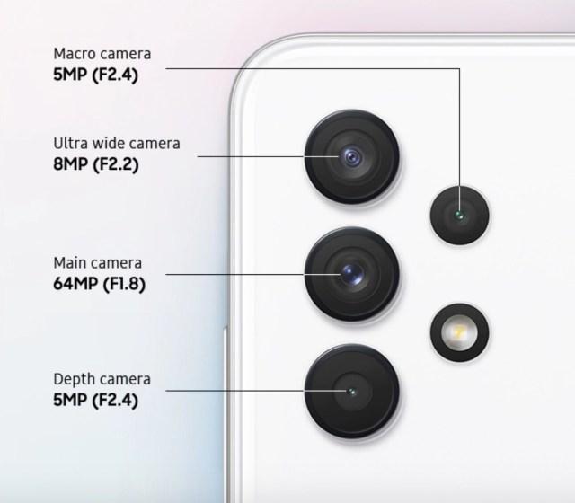 Camera Galaxy A32
