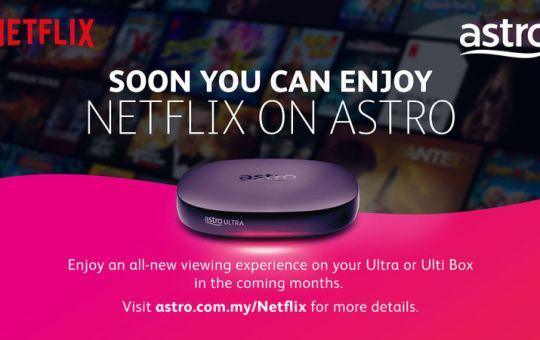Astro dan Netflix Mengumumkan Kerjasama Strategik