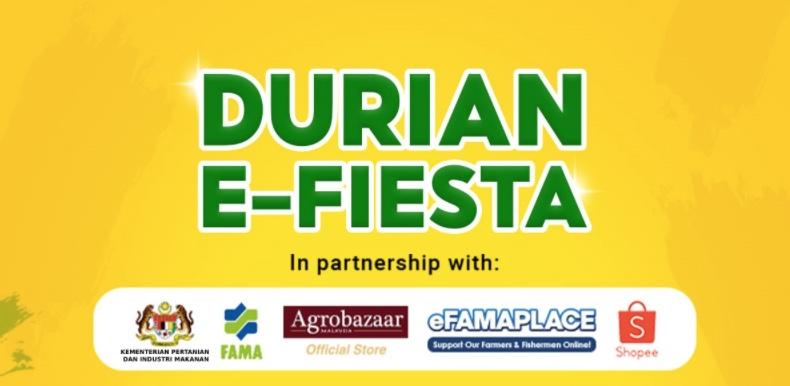 FAMA Berkerjasama Dengan Shopee Untuk e-Fiesta Durian