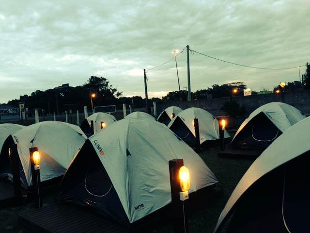 camping lagoa do armazem