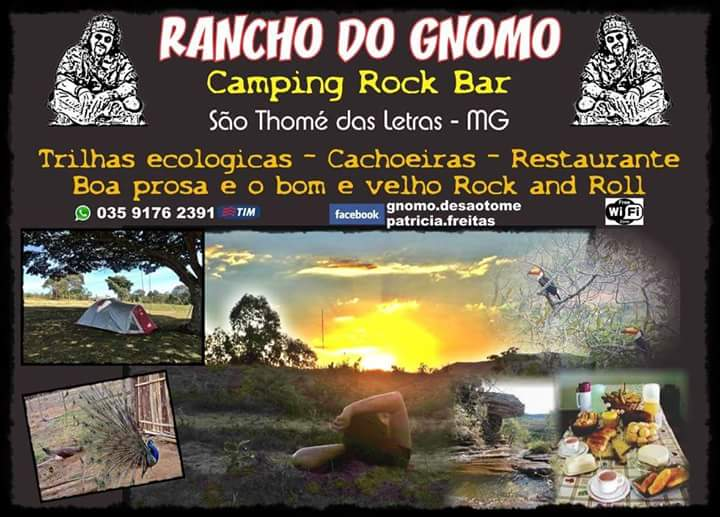 Camping Rancho do Gnomo Rock Bar