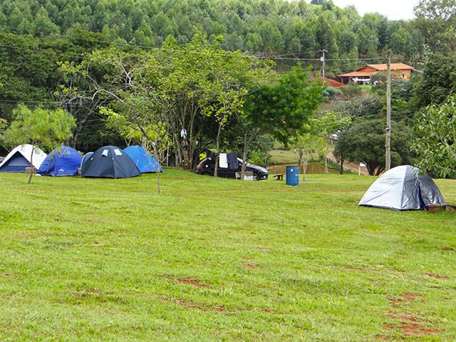 camping cachoeira Três quedas