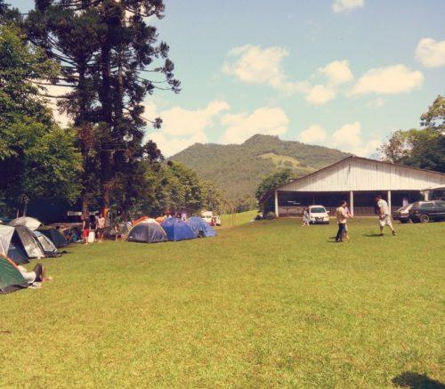 Camping Decker