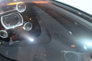 新型マカンイベント 展示車のヘッドライト