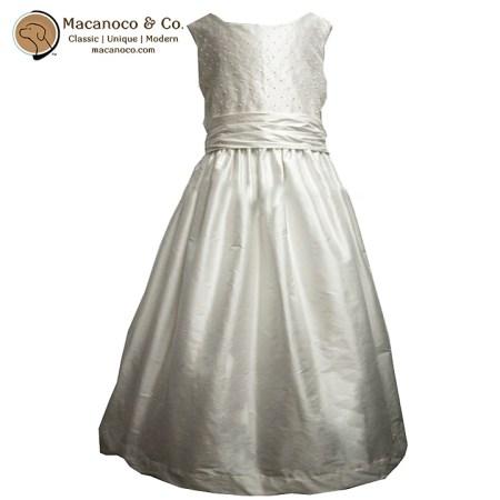 Pearl Bodice Silk Dress