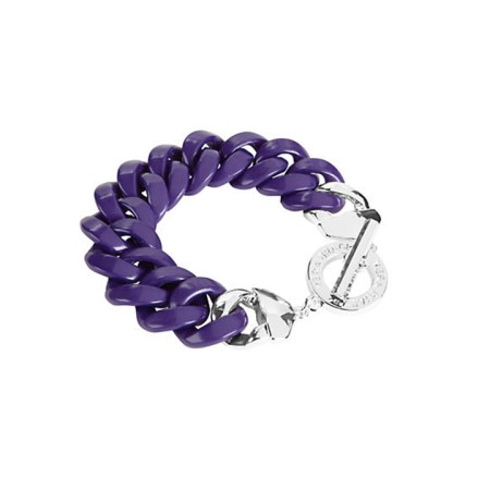 13086-144 Coloful Link Bracelet Heather