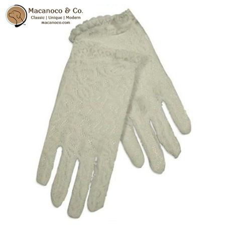 30253 White Lace Dress Glove 1