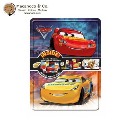 S46734 Disney Cars 3 Activity Tin