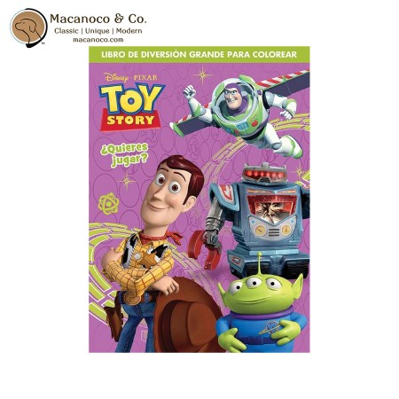10361-FS Toy Story 4 Quieres Jugar Spanish Coloring Book 1