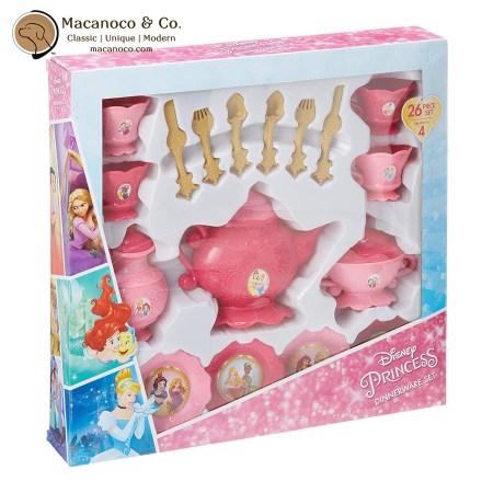99021 Disney Princess 26-Piece Dinnerware 1